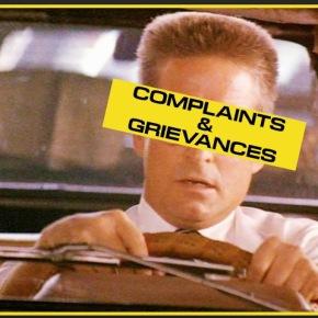 Complaints and Grievances, Part1